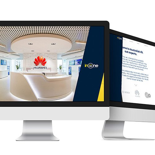 Innovative Website Design For InOne Projects